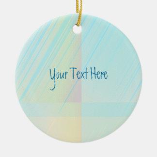 Hübsche Pastelle - erblassen Sie gefärbt abstrakt Keramik Ornament