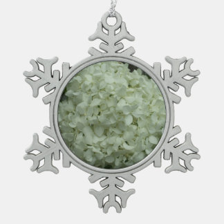 Hübsche Schneeball-Blume für den Baum Schneeflocken Zinn-Ornament