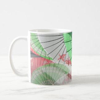 Hübsche Sonnenschirm-Tasse Kaffeetasse