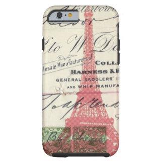 hübscher girly Liebeparis Eiffel des Chic I Turm Tough iPhone 6 Hülle