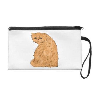Hübscher Kitty Wristlet Handtasche