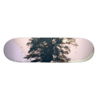 Hübscher Pastellbaum-abstrakter KunstSkateboard 19,1 Cm Old School Skateboard Deck
