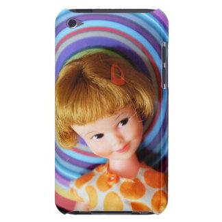 Hübscher Penny Brite mit Kreisen iPod Case-Mate Hülle