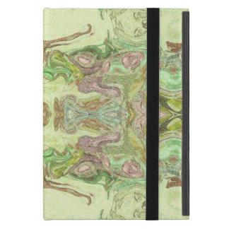 Hübsches abstraktes in Gelbem, in Limonem und Rosa Etui Fürs iPad Mini