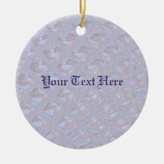 Hübsches Muster Keramik Ornament