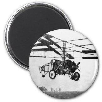 Hubschrauber-Erfindung Runder Magnet 5,1 Cm