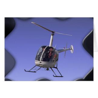 Hubschrauber-Gruß-Karten, die Chopper-Karten Karte