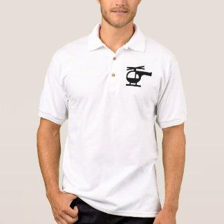 Hubschrauber Polo Shirt