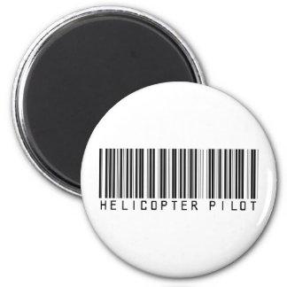 Hubschrauber-VersuchsBar-Code Runder Magnet 5,7 Cm
