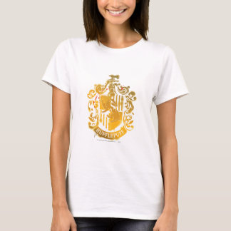 Hufflepuff Wappen - Splattered T-Shirt