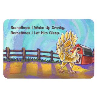 Huhn-Geschenke u. Zusätze Magnet