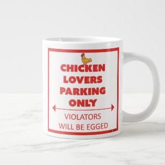 Huhn-Liebhaber, die nur Tasse parken Jumbo-Tasse