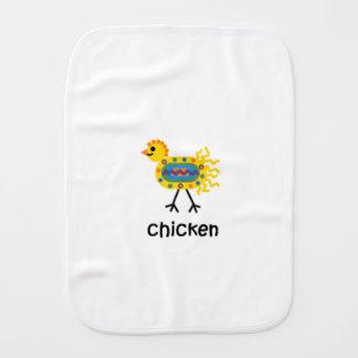 Huhn Spucktücher