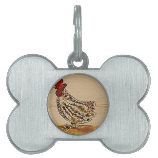 Huhn Vintag Tiermarke