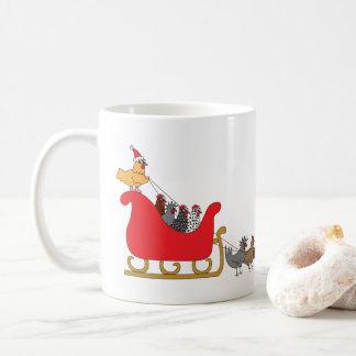 Huhn-Weihnachten Tasse