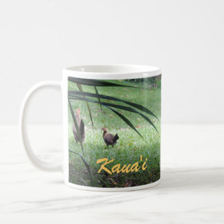 Hühner in Kauai Tasse