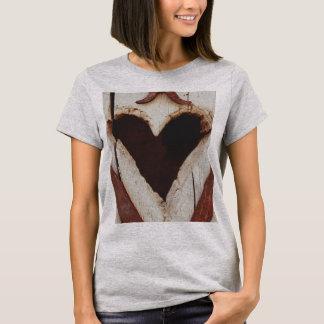 Hülsen-Valentinstag-Shirt der Frauen trendy kurzes T-Shirt