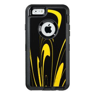 Hummel-Bienen-Farben OtterBox iPhone 6/6s Hülle