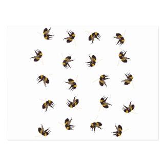 Hummel-Bienen Postkarte