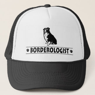 Humorvolle Border-Collie Truckerkappe