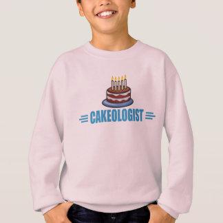 Humorvolles Cakeologist, lustiger Kuchen Sweatshirt