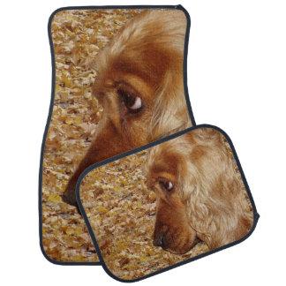 Hund Cocker spaniel Auto Fussmatte