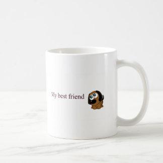 Hund des besten Freunds Tasse