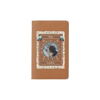 Hund - Loyalitäts-Notizbuch-Moleskin-Abdeckung Moleskine Taschennotizbuch