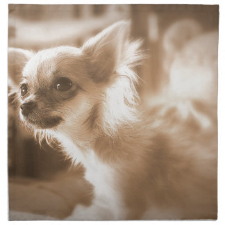 Hund Stoffserviette