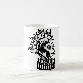 Hund und Baum Tasse