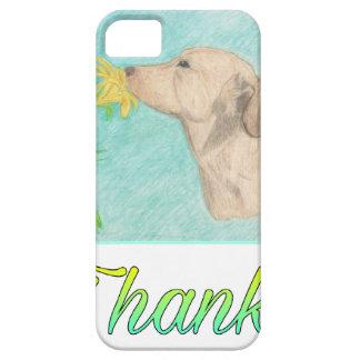 Hund und Blume danken Ihnen iPhone 5 Etuis