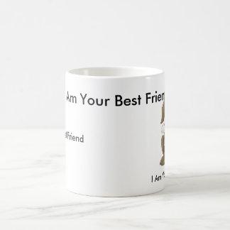 Hündchen, bin ich Ihr bester Freund, ich bin Ihr Tasse