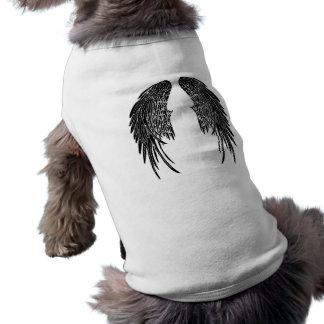 Hündchen-Flügel T-Shirt