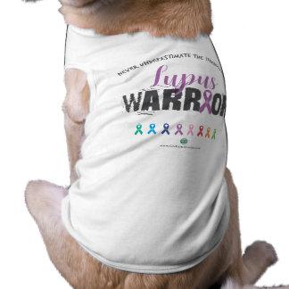 Hündchen-gewelltes Trägershirt Ärmelfreies Hunde-Shirt