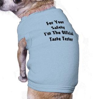 Hündchenspaß Ärmelfreies Hunde-Shirt
