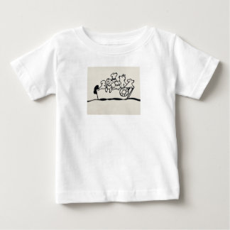 """Hunde-und Boots-"" Baby-Jersey-T - Shirt"