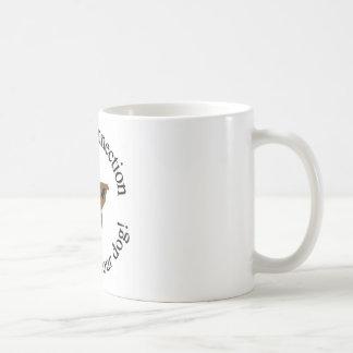 Hunde- Verbindung LLC-Logoschale Tasse