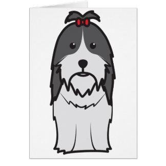 HundeCartoon Shih Tzu Karte