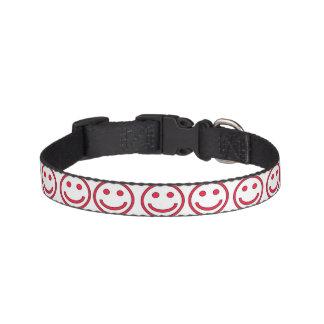 Hundehalsband - Smily Rot Haustierhalsband