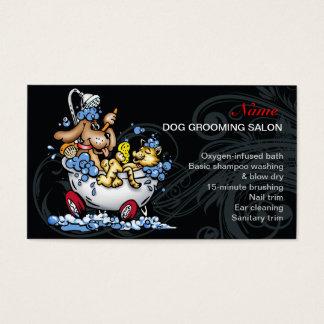 Hundepflegen Salon-Visitenkarte Visitenkarte