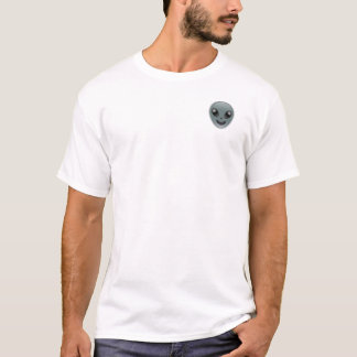 Hungriger alien Emoji T - Shirt (oberster links