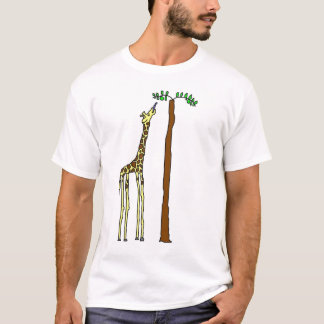 Hungriges Giraffen-Shirt T-Shirt