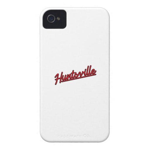 Huntsville im Rot iPhone 4 Hüllen