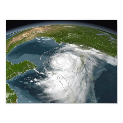 Hurrikan Dennis 2 Fotografie