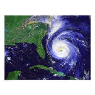 Hurrikan Fran Kunstfoto