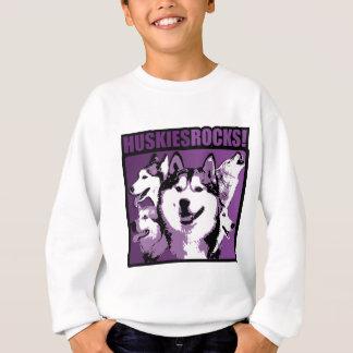 Huskies-Felsen! Sweatshirt