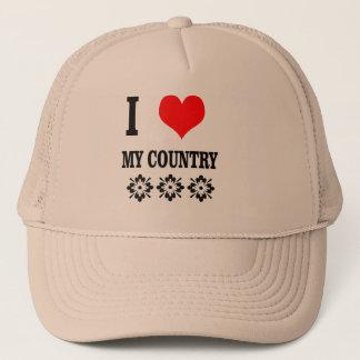 Hut+Liebe I mein Land Truckerkappe