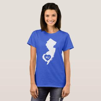 I der grundlegende T - Shirt der Liebe-New-Jersey