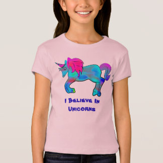I der Kinder glauben an Einhörner T-Shirt