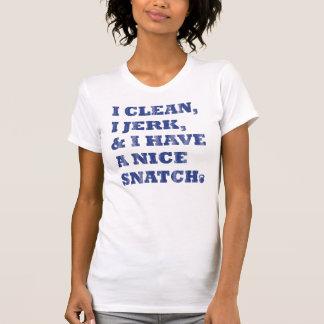 I der saubere i Ruck und ich haben ein nettes Shirts